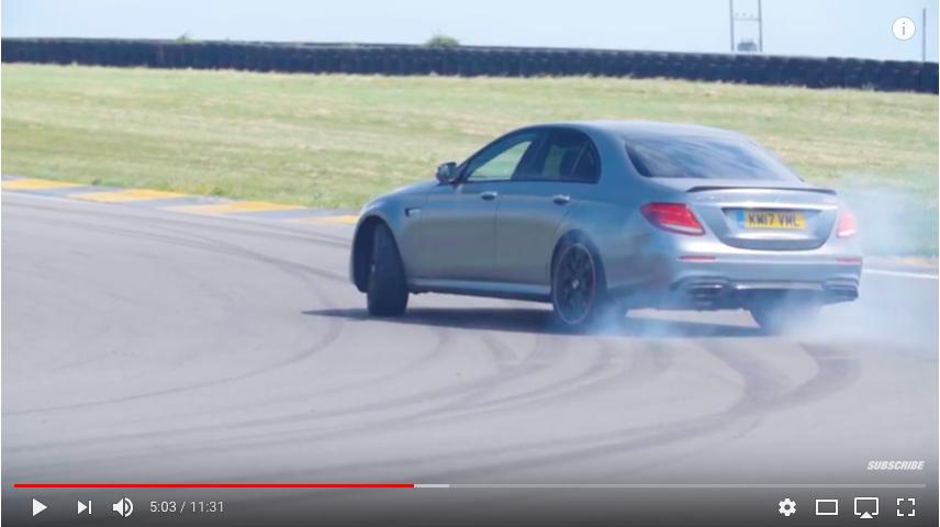 Top Gear testkör Meredes-AMG E 63 S